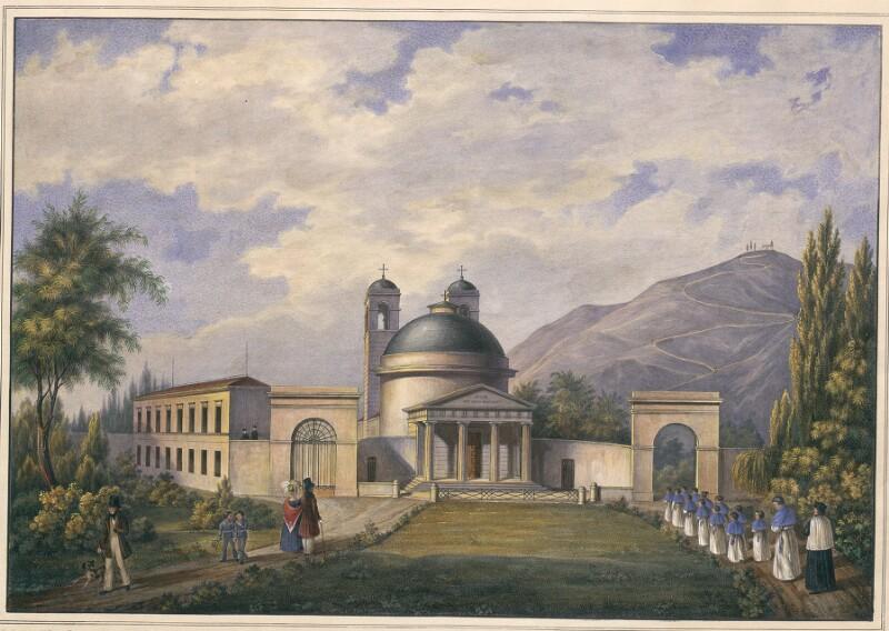 Tempietto e Orfanotrofio sul Colle di S. Rocco in Ceneda
