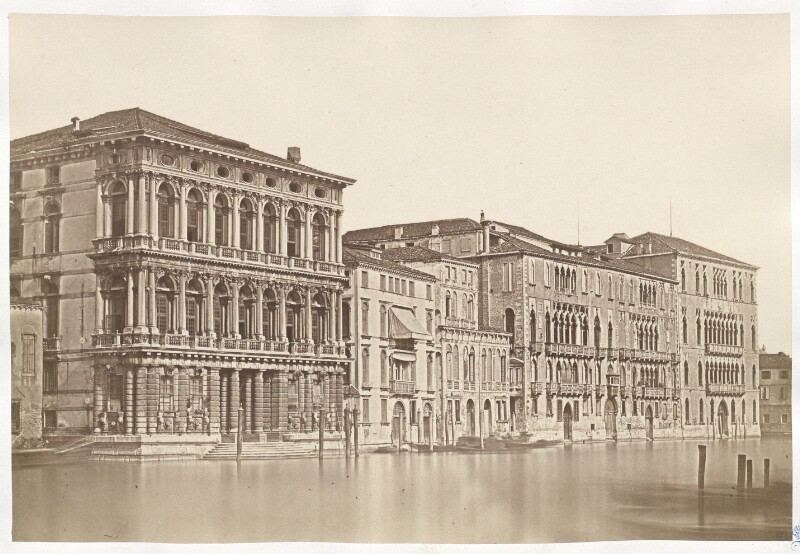Venedig. Palazzo Rezonico. Palazzo Giustinian. Palazzo Foscari