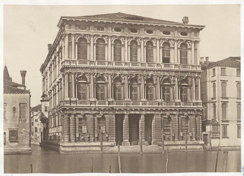 Venedig. Palazzo Rezonico