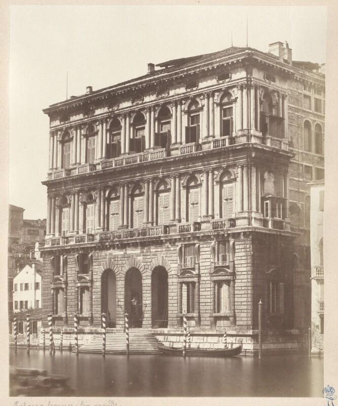 Venedig. Palazzo Corner Ca grande von Cimetta, Giuseppe