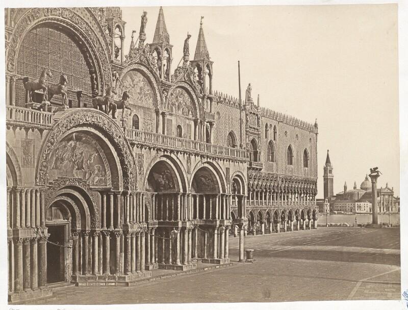 Venedig. Marcuskirche und Dogenpalast