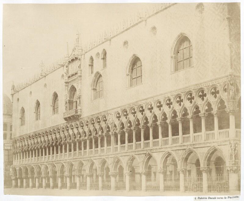 Venedig Palazzo Ducale verso la Piazzetta