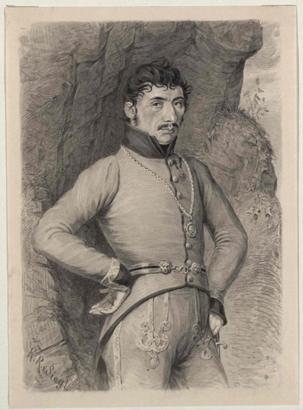 Josef Speckbacher von Siegl, Karl Ritter von