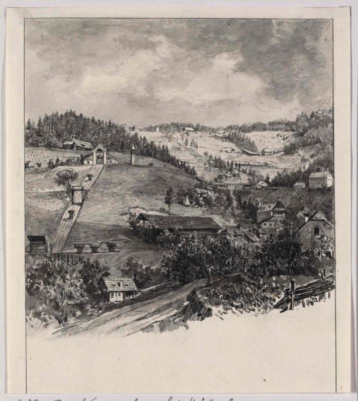 Der Knappenberg bei Hüttenberg von Charlemont, Hugo
