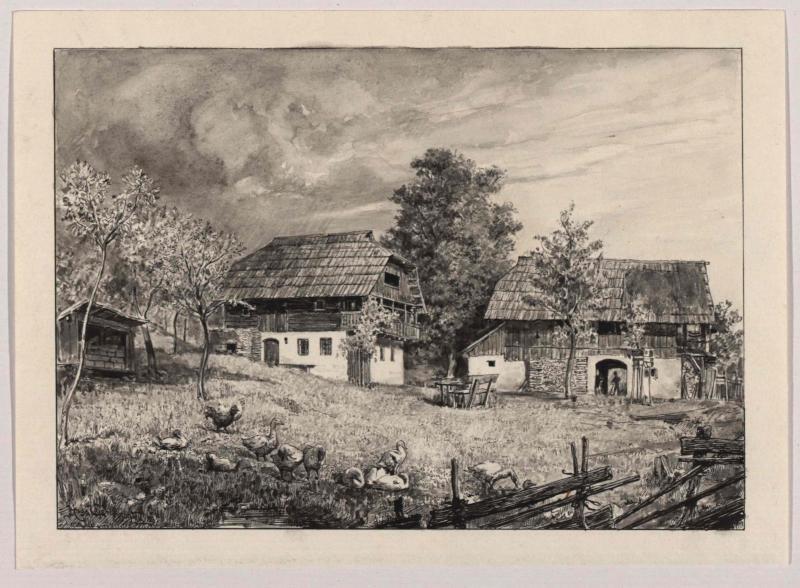 Bauernhof in Oberkärnten von Charlemont, Hugo